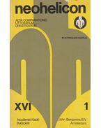 Neohelicon XVI/1 - Szabolcsi Miklós, Vajda M. György