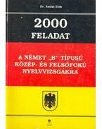 2000 feladat a német