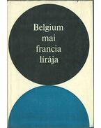 Belgium mai francia lírája - Számos nevezetes író