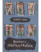 Beziéres-i lehetetlenségek (dedikált) - Szántó Tibor