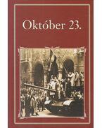 Október 23. - Szigethy Gábor