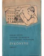 Jedlik János Gépipari Technikum és Felsőfokú Technikum Évkönyve 1966-67 - Szilágyi Ferenc