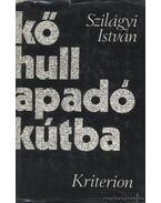 Kő hull apadó kútba - Szilágyi István