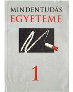 Mindentudás egyeteme 1. - Szilágyi Zsuzsa (szerk.), Hitseker Mária