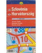 Szlovénia, Horvátország 1:800000