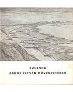 Szolnok Zádor István művészetében - Kaposvári Gyula