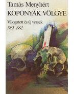 Koponyák völgye (dedikált) - Tamás Menyhért