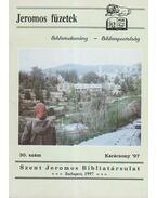 Jeromos füzetek 30. szám - Tarjányi Béla
