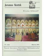Jeromos füzetek 51.szám - Tarjányi Béla