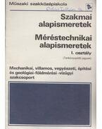 Méréstechnikai alapismeretek - Tatár József