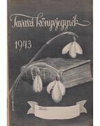 Tavaszi könyvjegyzék 1943