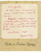 Babits és Sárközi György - Téglás János