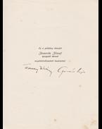 Egy cigány, egy király… (aláírt) - Ternay István, Gellért Lajos