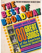 The Best of Broadway: 80 great songs of the American musical theatre