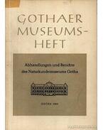 Abhandlungen un Berichte des Naturkundemuseums Gotha 1966 - Több német szerző