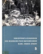 Veröffentlichungen des Museums für Naturkunde Karl-Marx-Stadt - Több német szerző