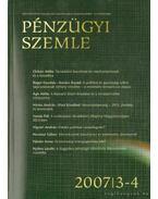 Pénzügyi szemle 2007/ 3-4. - Több szerkesztő