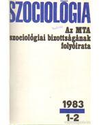Szociológia 1983 (teljes) - Több szerkesztő