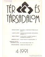 Tér és társadalom 1991/4 - Több szerkesztő