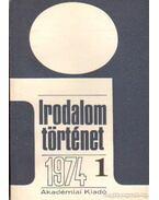 Irodalomtörténet 1974. évf. (teljes) - Több szerző