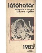 Látóhatár 1983 október - Több szerző