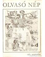 Olvasó Nép 1981. szeptember - Tóbiás Áron