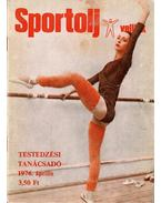 Sportolj velünk 1976. április - Toldy Ferenc