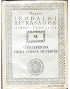 Szemelvények Toldy Ferenc műveiből - Toldy Ferenc