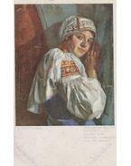Tót leány (képeslap)