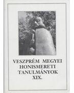 Veszprém megyei honismereti tanulmányok XIX. - Tóth Dezső