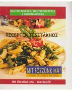 Receptek tésztákhoz - Tóth Endre