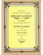 Szilády Károly emlékkönyv - Tóth Sándor