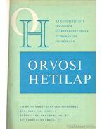 Orvosi hetilap 125. évfolyam (I-II) - Trencséni Tibor