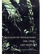 Ökologische Beziehungen der Vögel und Gehölze (Ökológiai összefüggések a madarak jelenléte és a faírtás között) - Turcek, Frantisek