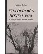 Szülőföldön hontalanul - Ujváry Zoltán