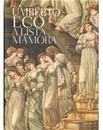 A lista mámora - Umberto Eco