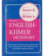 English-Khmer dictionary - Ung Tea Seam, Neil ffrench Blake