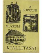 A soproni Liszt Ferenc Múzeum és kiállításai - Uzsoki András