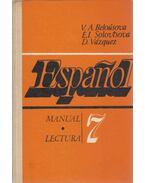 Espanol 7 - V. A. Belousova, E. I. Solovtsova, D. Vázquez