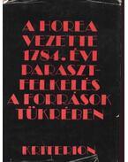 A Horea vezette 1784. évi parasztfelkelés a források tükrében - V.András János