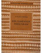 Költemények prózában - Vajda Péter