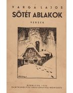 Sötét ablakok (aláírt) - Varga Lajos