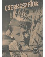 Cserkészfiúk 1947. november - Vargha Domokos