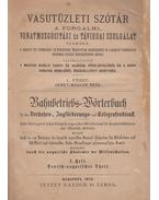 Vasutüzleti szótár / Bahnbetriebs-Wörterbuch