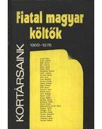Fiatal magyar költők 1969-1978 - Vasy Géza