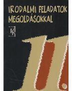 Irodalmi feladatok megoldásokkal 11. évfolyam - Vasy Géza, Vasy Gézáné
