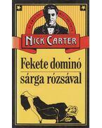 Fekete dominó sárga rózsával - Véber Károly