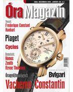 Óra magazin 2003. december/ 2004. január - Venicz Áron