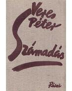 Számadás (aláírt) - Veres Péter