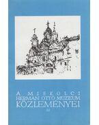 A miskolci Herman Ottó Múzeum közleményei 22. - Viga Gyula